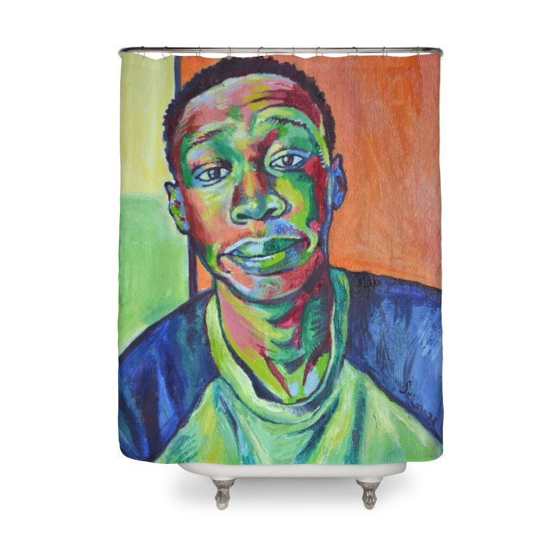 """khaby Home Shower Curtain by Art Prints by Seamus Wray available under """"Home"""""""