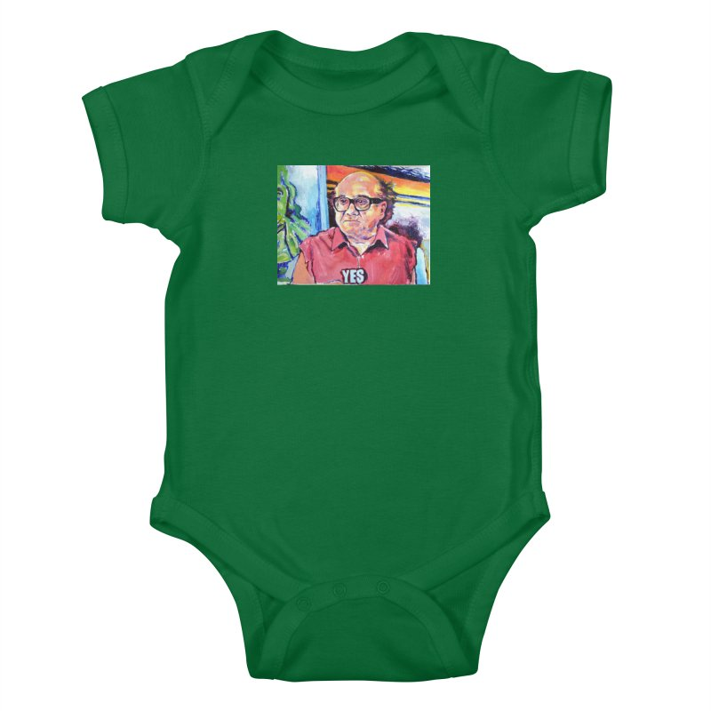 """yes Kids Baby Bodysuit by Art Prints by Seamus Wray available under """"Home"""""""