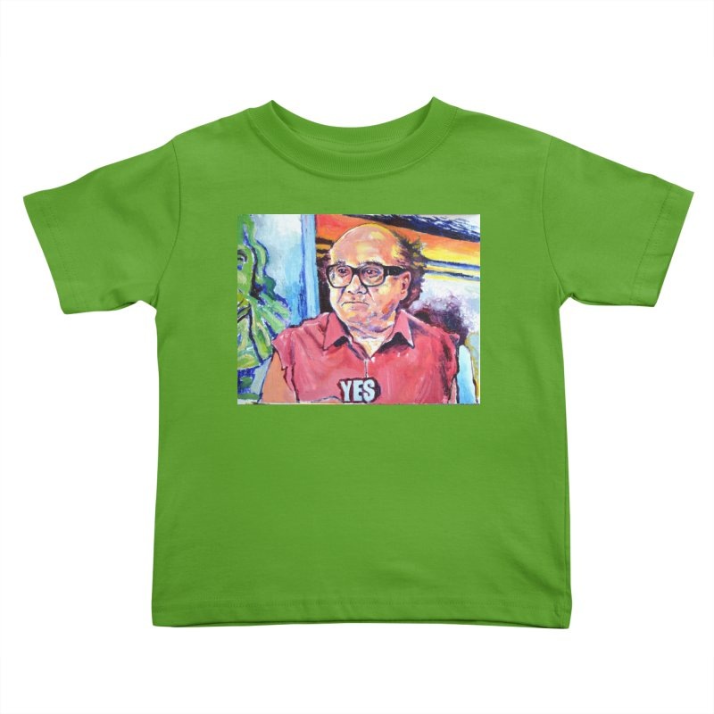 """yes Kids Toddler T-Shirt by Art Prints by Seamus Wray available under """"Home"""""""