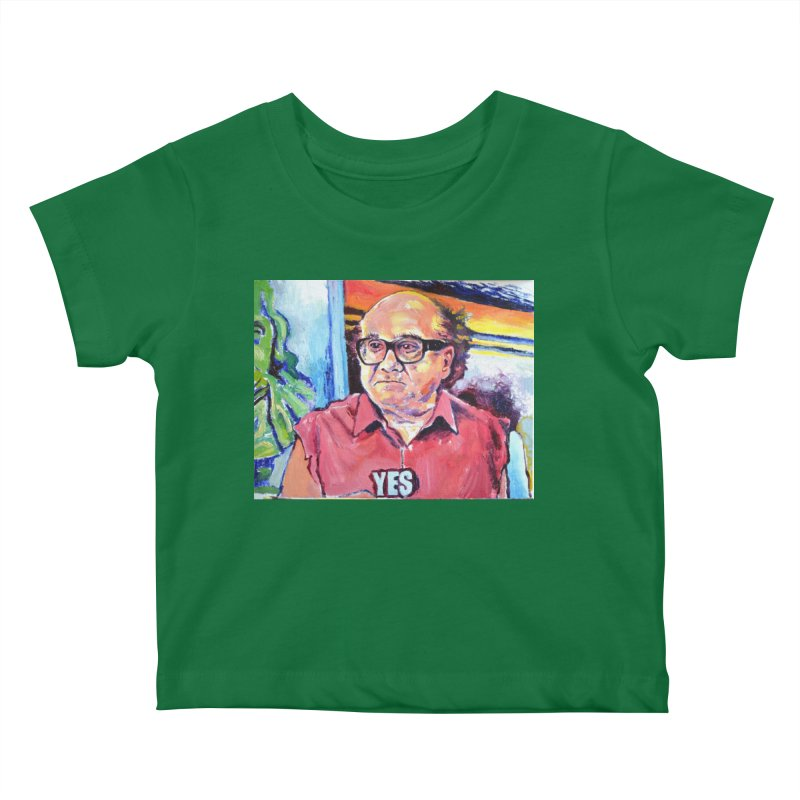 """yes Kids Baby T-Shirt by Art Prints by Seamus Wray available under """"Home"""""""