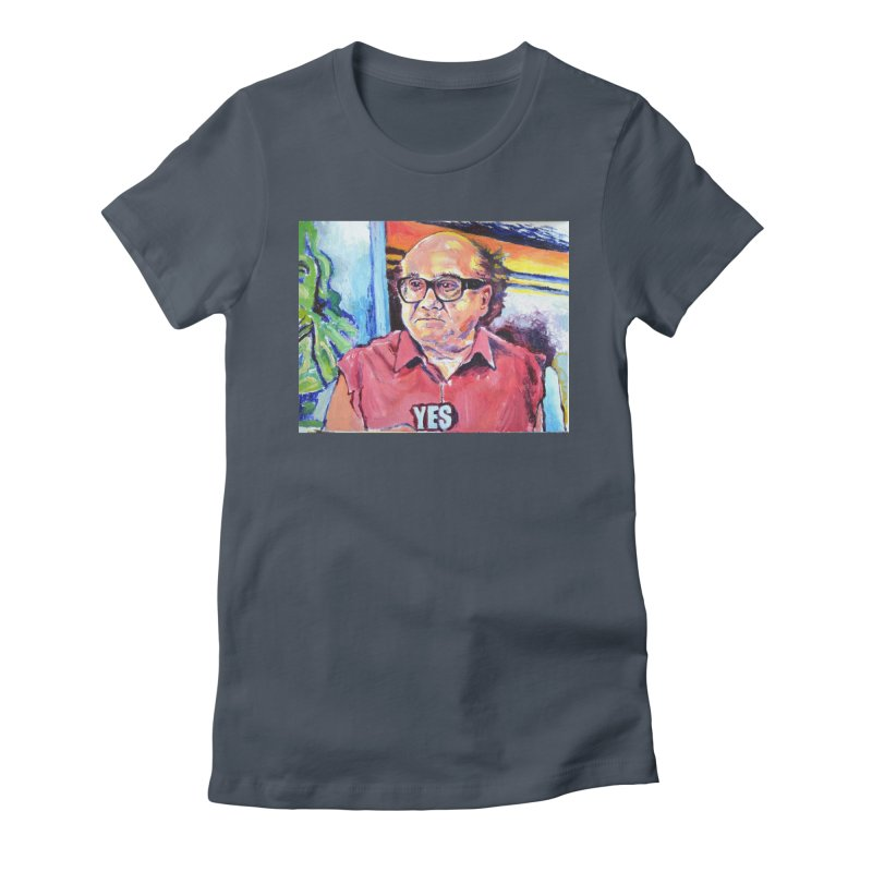 """yes Women's T-Shirt by Art Prints by Seamus Wray available under """"Home"""""""