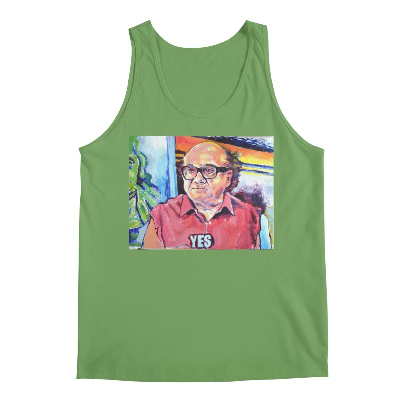 """yes Men's Tank by Art Prints by Seamus Wray available under """"Home"""""""