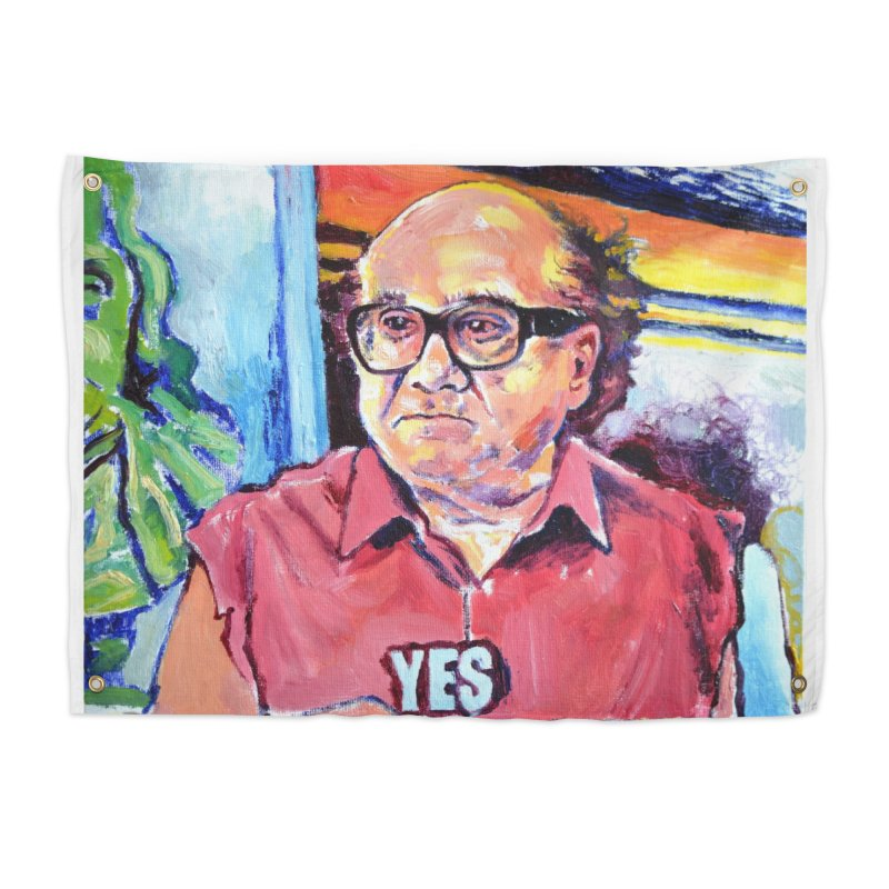 """yes Home Tapestry by Art Prints by Seamus Wray available under """"Home"""""""