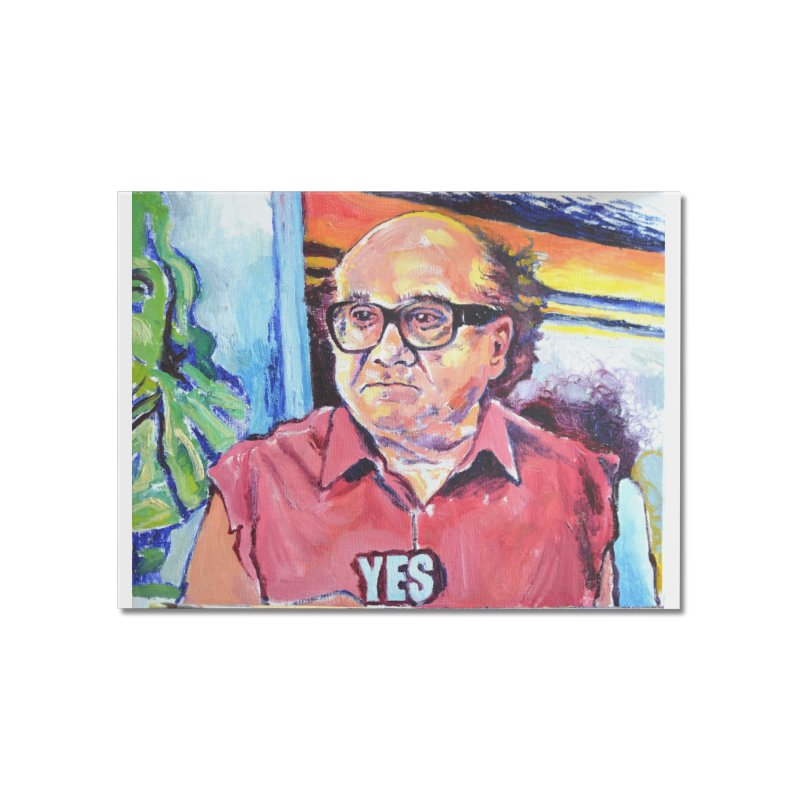 """yes Home Mounted Acrylic Print by Art Prints by Seamus Wray available under """"Home"""""""