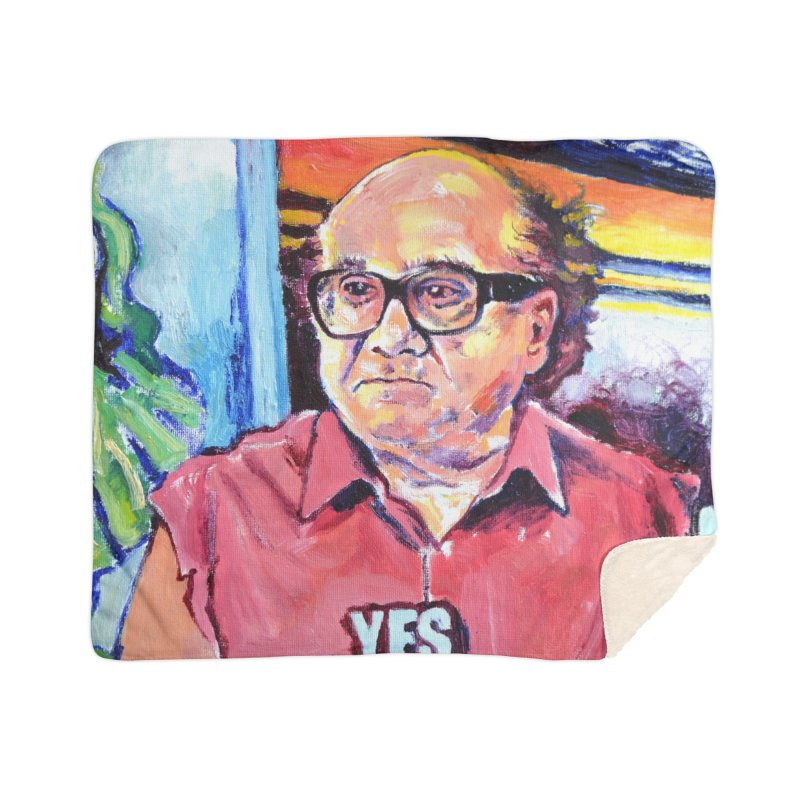 """yes Home Blanket by Art Prints by Seamus Wray available under """"Home"""""""