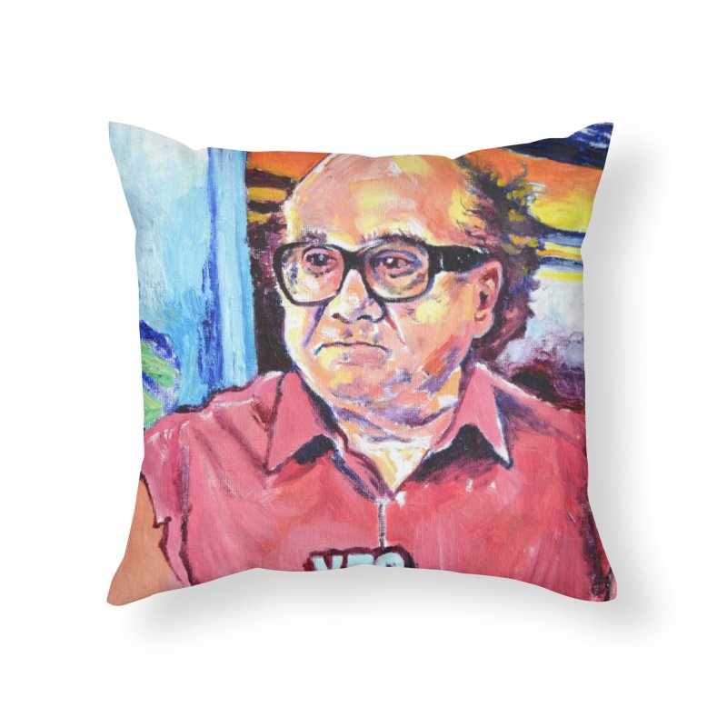 """yes Home Throw Pillow by Art Prints by Seamus Wray available under """"Home"""""""