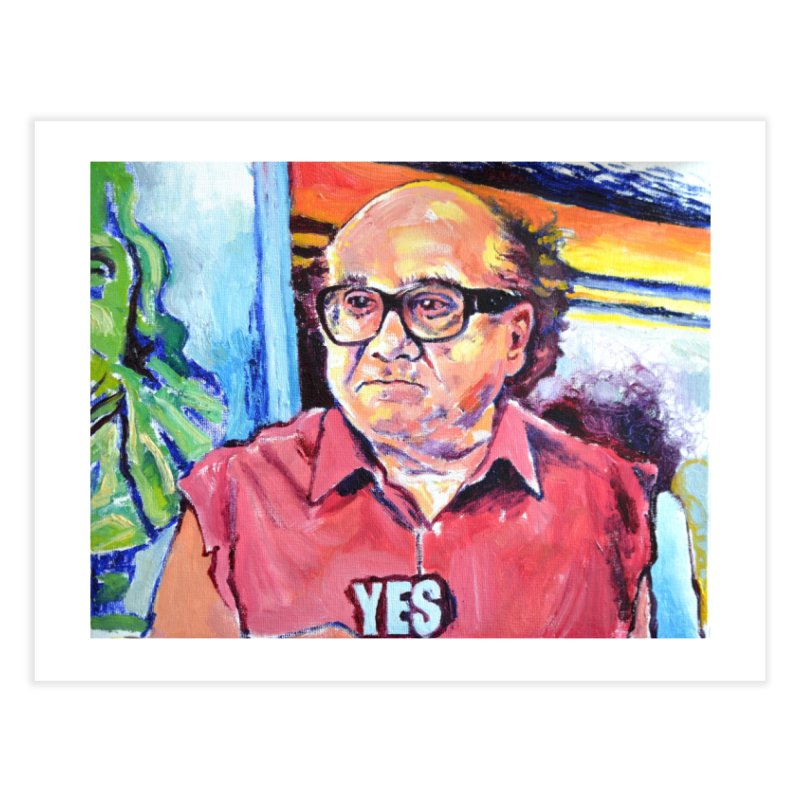 """yes Home Fine Art Print by Art Prints by Seamus Wray available under """"Home"""""""