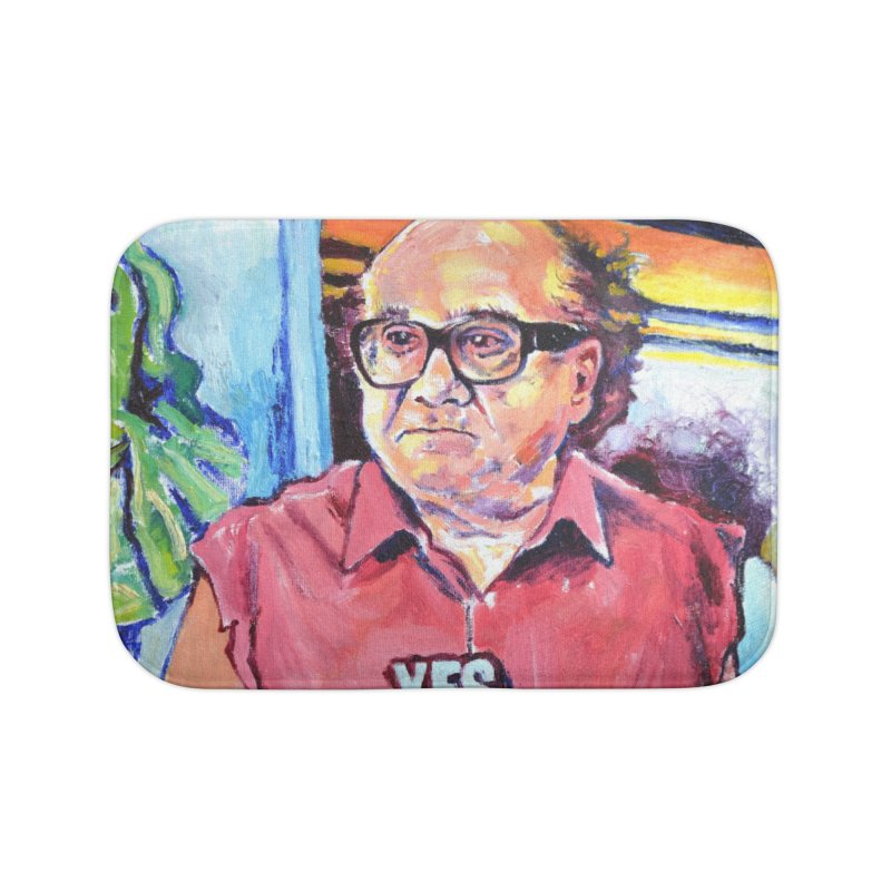 """yes Home Bath Mat by Art Prints by Seamus Wray available under """"Home"""""""