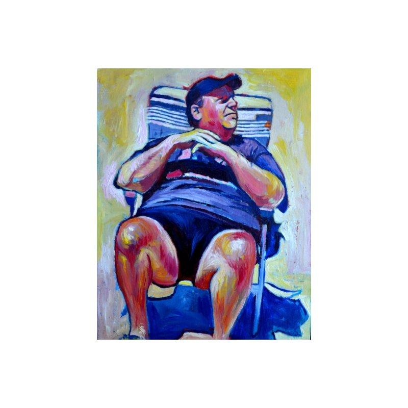 Chris Christie by paintings by Seámus Wray
