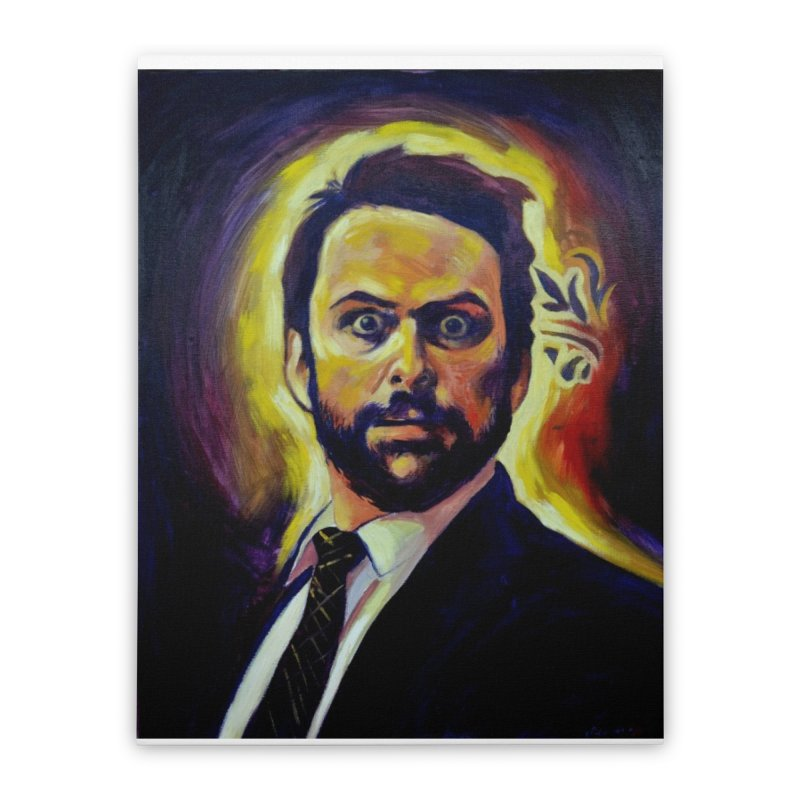 """Charlie Stare Home Stretched Canvas by Art Prints by Seama available under """"Home"""""""