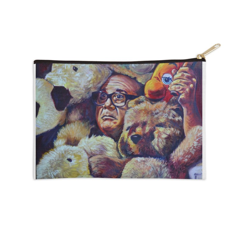 """Stuffed Animals Accessories Zip Pouch by Art Prints by Seama available under """"Home"""""""