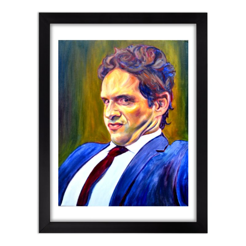 """A guy that totally got off Home Framed Fine Art Print by Art Prints by Seamus Wray available under """"Home"""""""