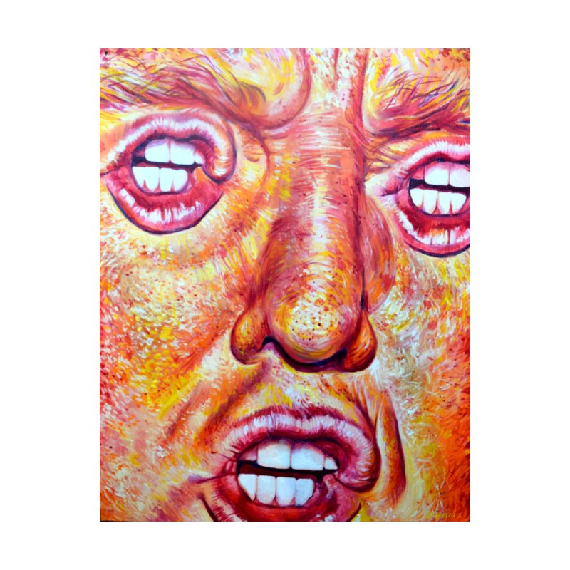 Mouth Eyes by paintings by Seamus Wray