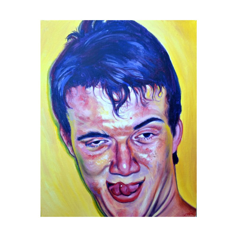 10guy by paintings by Seamus Wray
