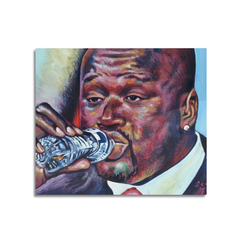 """Shaq Water Home Mounted Acrylic Print by Art Prints by Seamus Wray available under """"Home"""""""