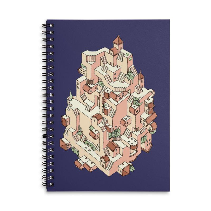 Tower Maze Accessories Notebook by Sean C Jackson