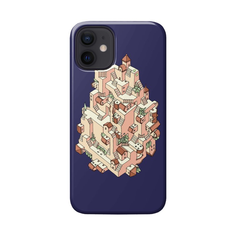 Tower Maze Accessories Phone Case by Sean C Jackson