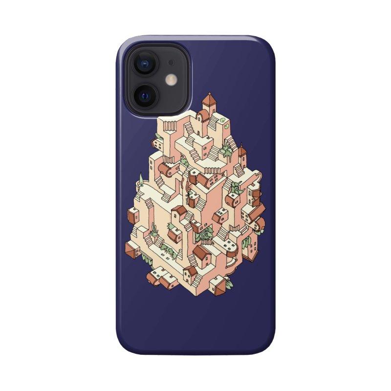 Tower Maze Accessories Phone Case by Sean C Jackson