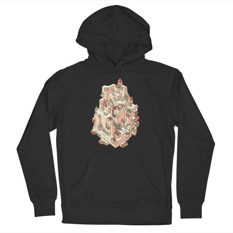 Tower Maze Men's Pullover Hoody by Sean C Jackson