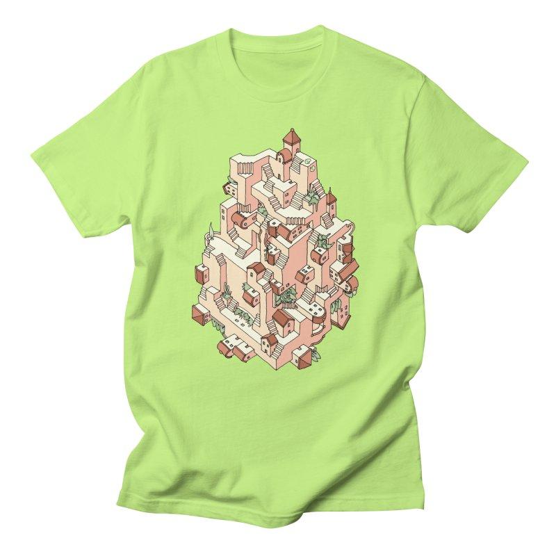 Tower Maze Women's Regular Unisex T-Shirt by Sean C Jackson