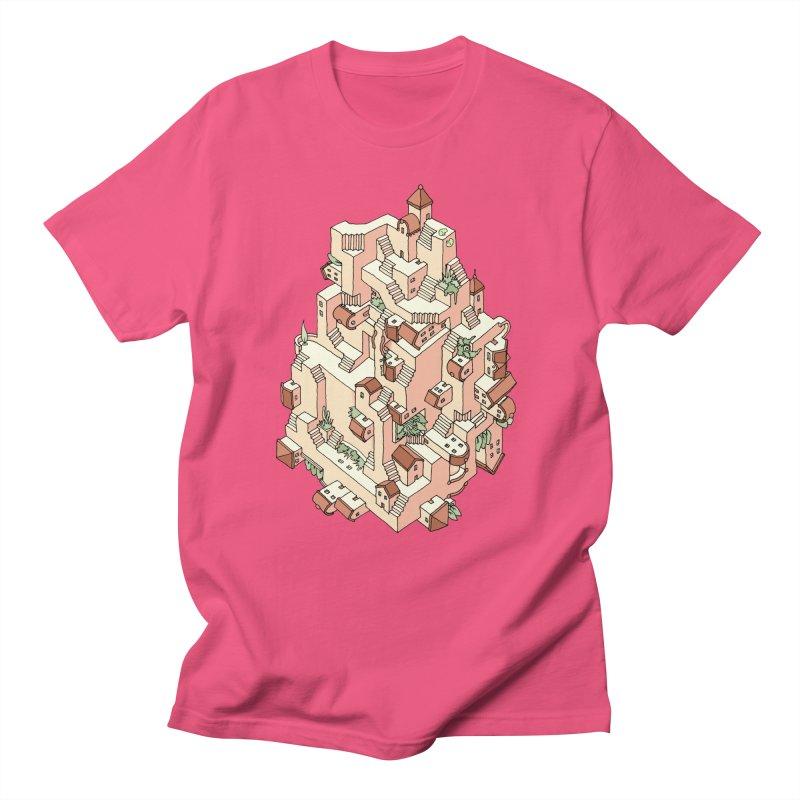 Tower Maze Men's T-Shirt by Sean C Jackson