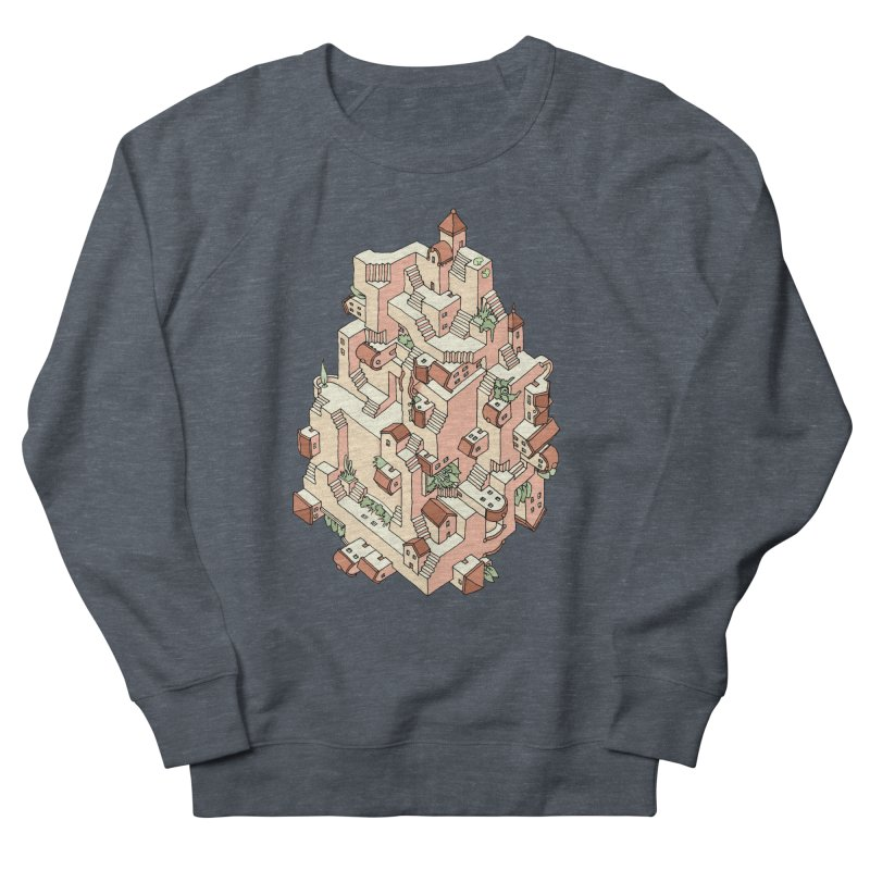 Tower Maze Women's French Terry Sweatshirt by Sean C Jackson