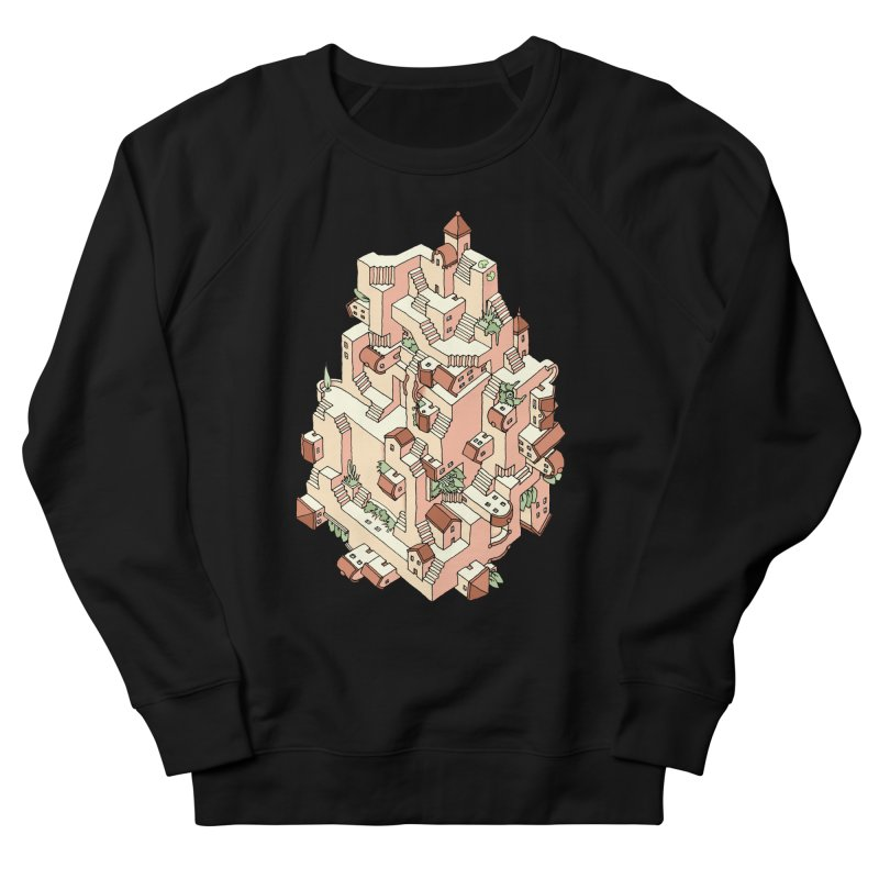 Tower Maze Men's Sweatshirt by Sean C Jackson