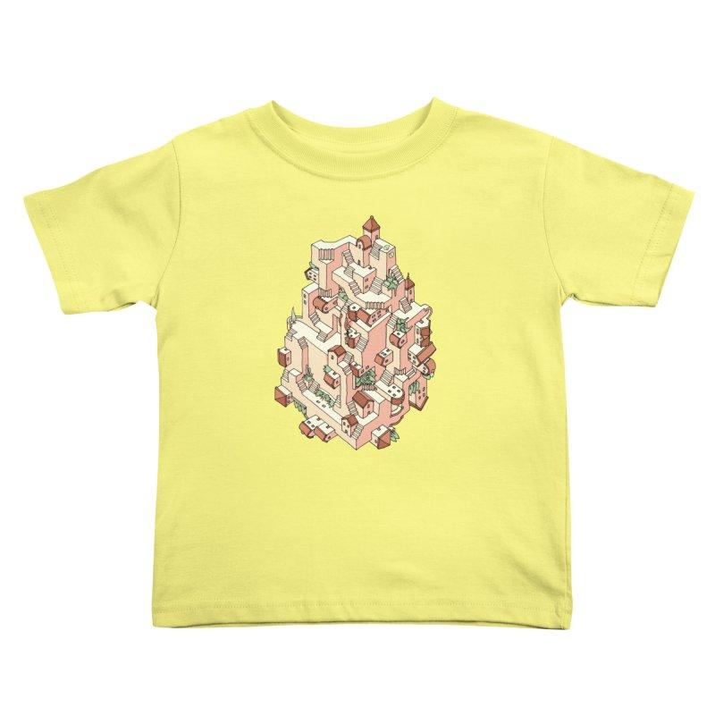 Tower Maze Kids Toddler T-Shirt by Sean C Jackson