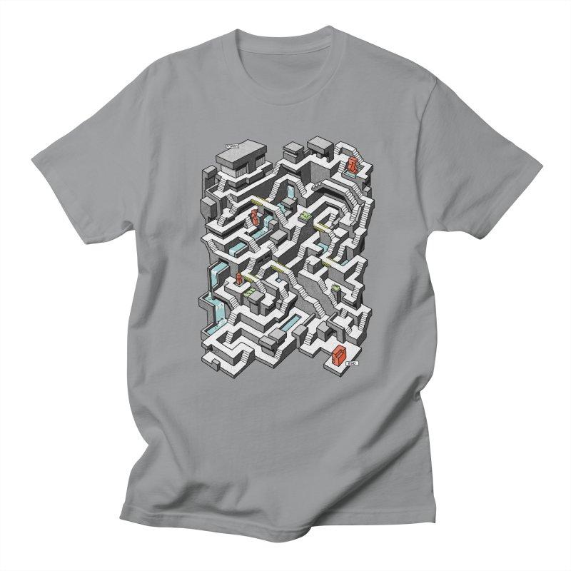 Brutal Maze Women's Regular Unisex T-Shirt by Sean C Jackson