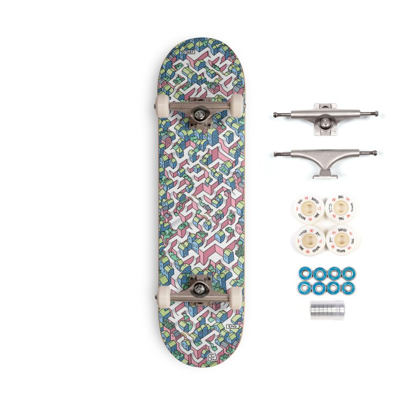 Skate Maze Accessories Complete - Premium Skateboard by Sean C Jackson