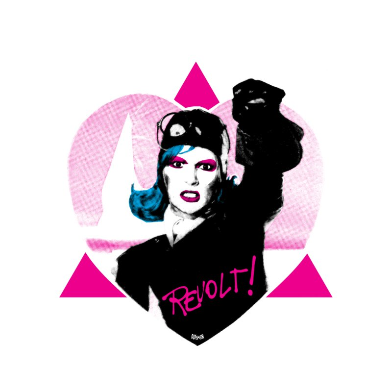 REVOLT '19 Home Mounted Aluminum Print by Gothman Flavored Clothing