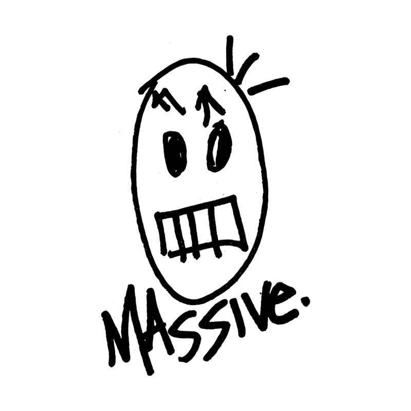 MASSIVE. (1.0.0) Accessories Sticker by Gothman Flavored Clothing