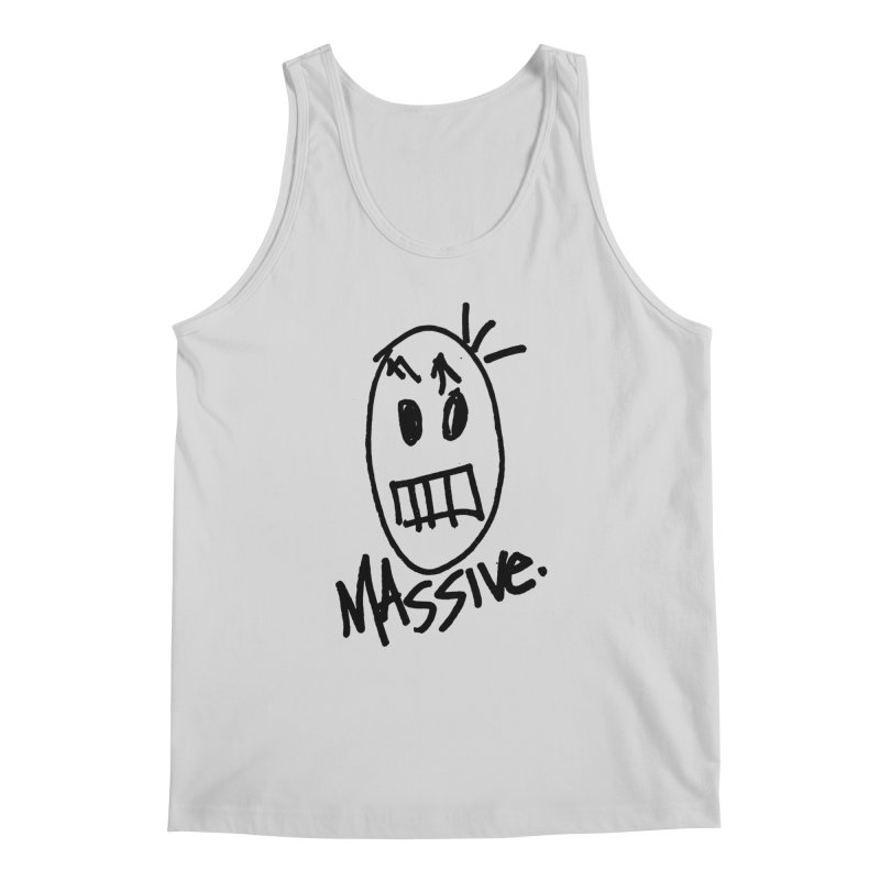 MASSIVE. (1.0.0) Men's Regular Tank by Gothman Flavored Clothing