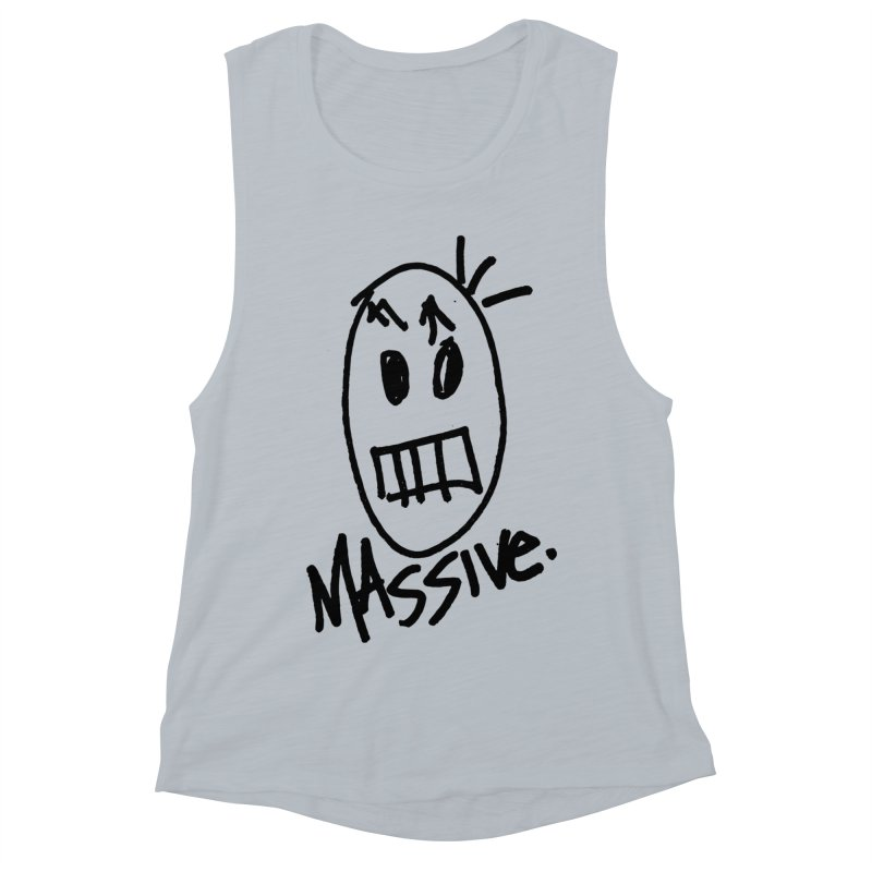 MASSIVE. (1.0.0) Women's Muscle Tank by Gothman Flavored Clothing
