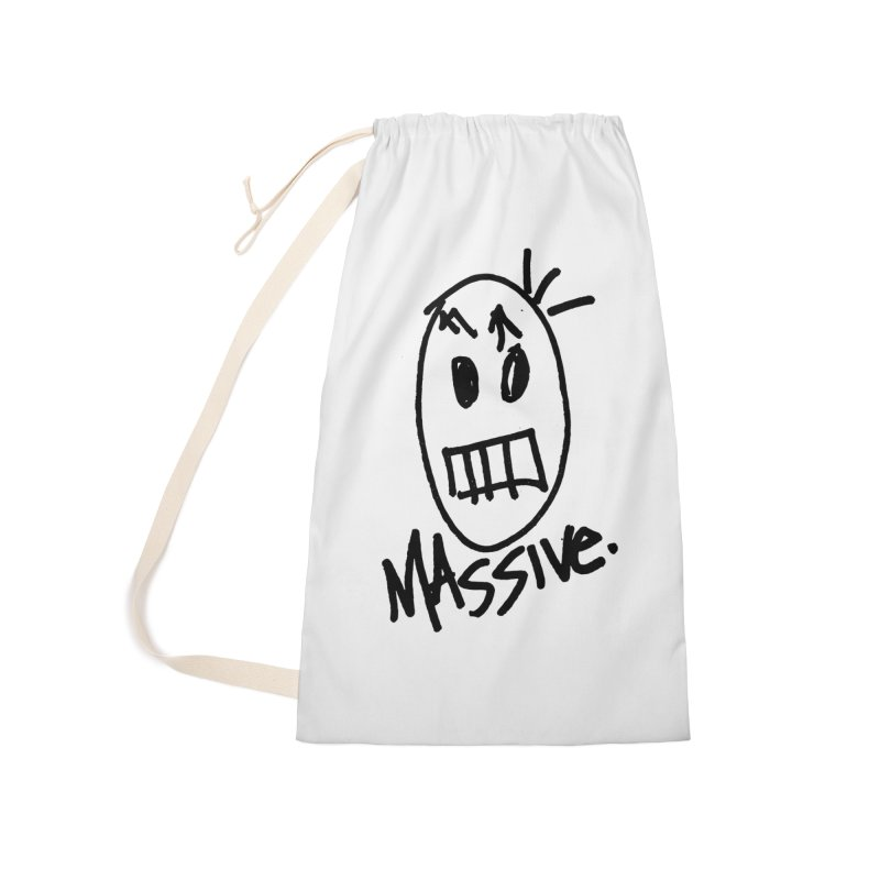 MASSIVE. (1.0.0) Accessories Laundry Bag Bag by Gothman Flavored Clothing