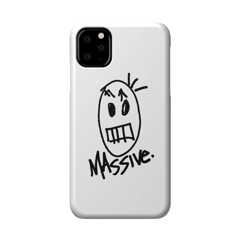 MASSIVE. (1.0.0) Accessories Phone Case by Gothman Flavored Clothing