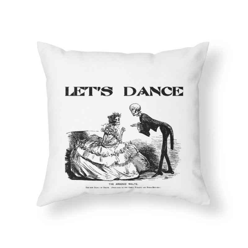 Let's Dance - (Light Colors) Home Throw Pillow by Gothman Flavored Clothing