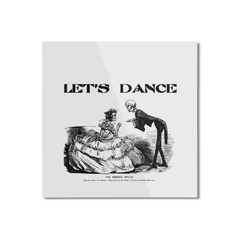 Let's Dance - (Light Colors) Home Mounted Aluminum Print by Gothman Flavored Clothing