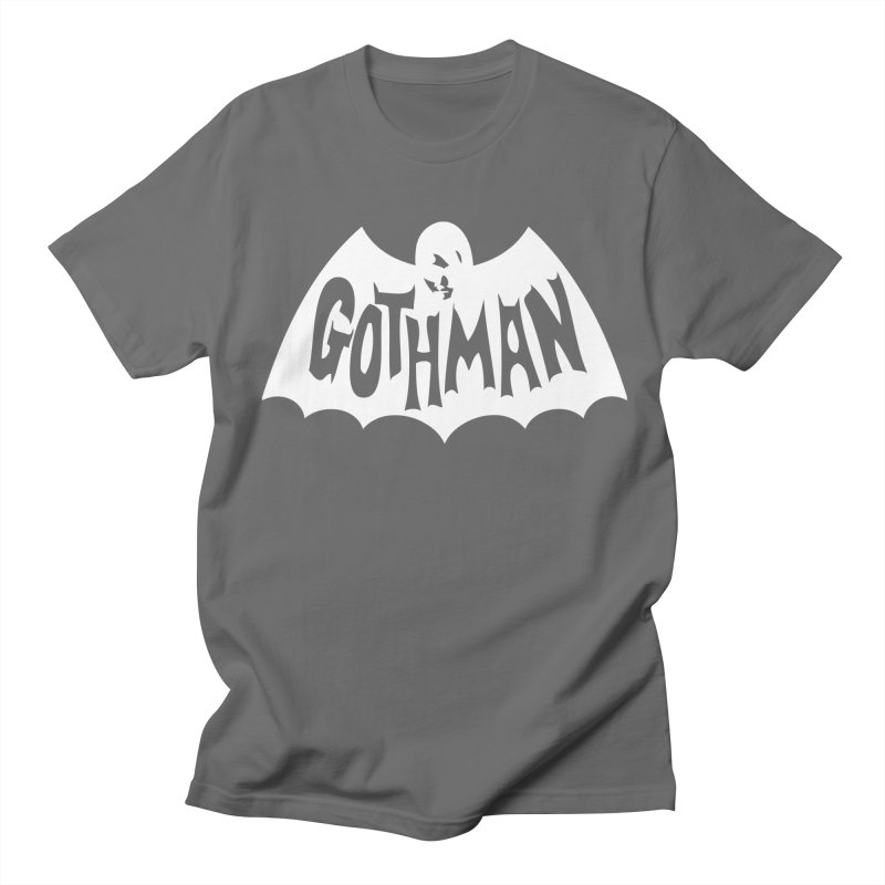 Gothman Classic White Men's T-Shirt by Gothman Flavored Clothing