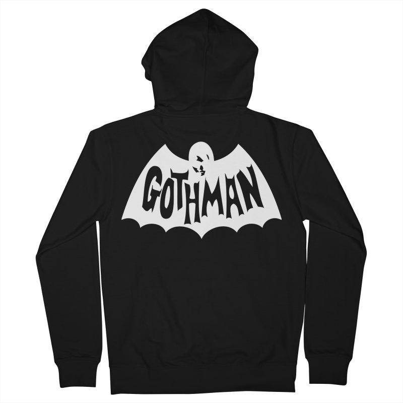 Gothman Classic White Women's French Terry Zip-Up Hoody by Gothman Flavored Clothing