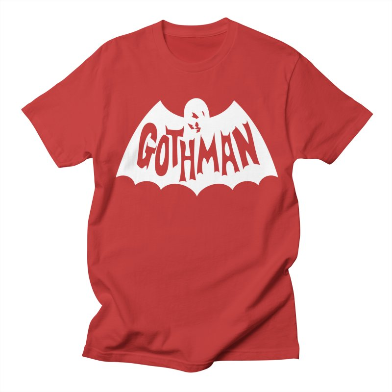 Gothman Classic White Women's Regular Unisex T-Shirt by Gothman Flavored Clothing