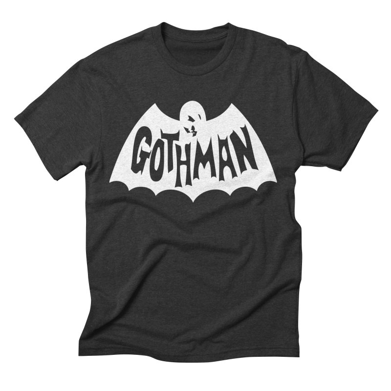 Gothman Classic White Men's Triblend T-Shirt by Gothman Flavored Clothing