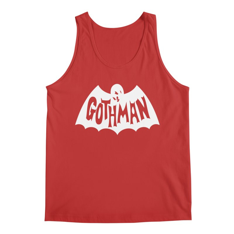 Gothman Classic White Men's Regular Tank by Gothman Flavored Clothing