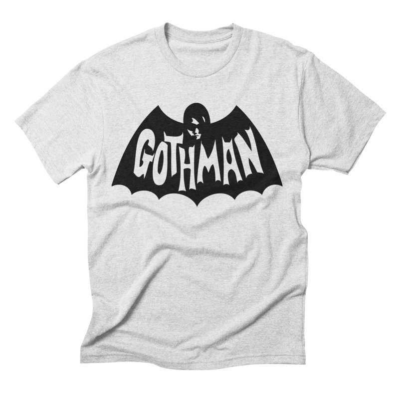 Gothman Classic Black Men's Triblend T-Shirt by Gothman Flavored Clothing