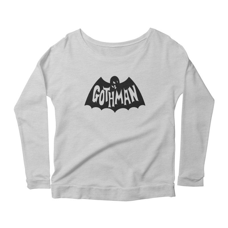 Gothman Classic Black Women's Longsleeve T-Shirt by Gothman Flavored Clothing