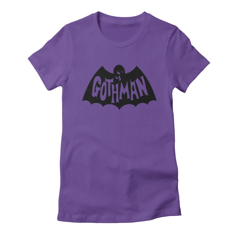 Gothman Classic Black Women's T-Shirt by Gothman Flavored Clothing