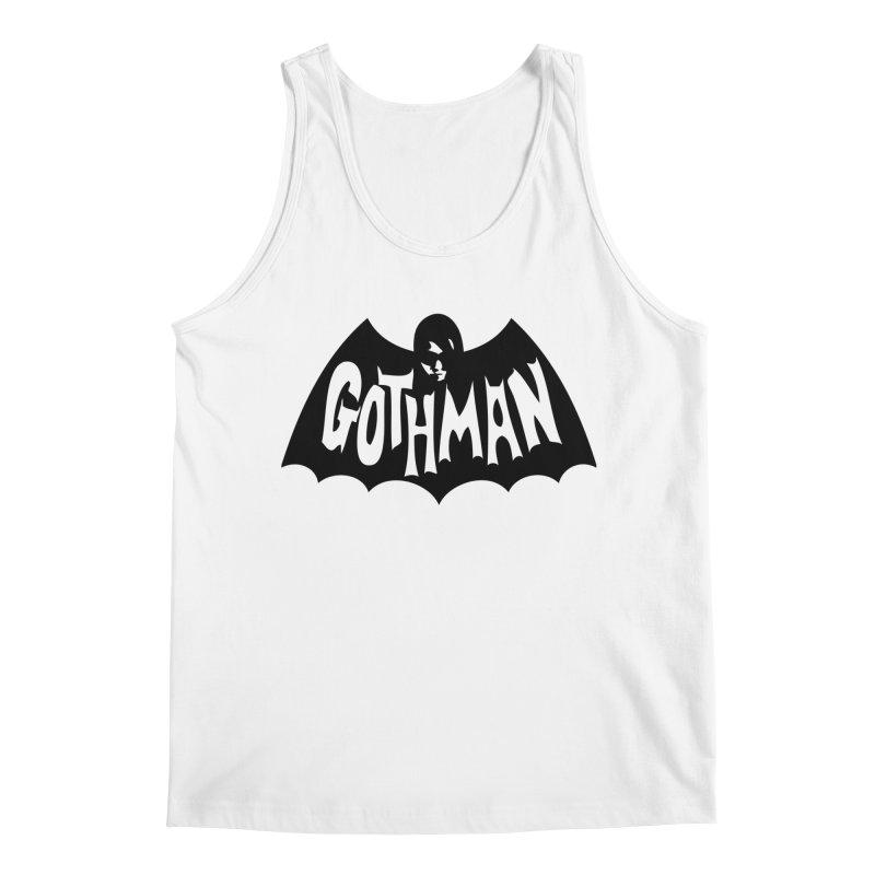 Gothman Classic Black Men's Regular Tank by Gothman Flavored Clothing