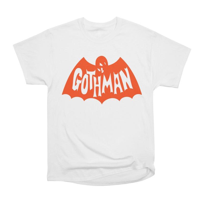 Gothman Classic Orange Women's Heavyweight Unisex T-Shirt by Gothman Flavored Clothing