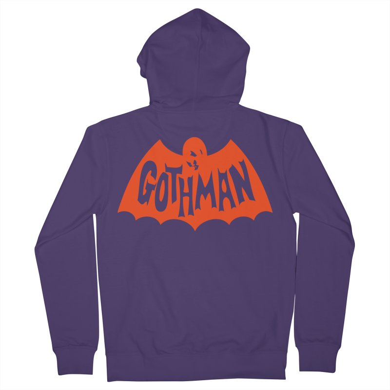 Gothman Classic Orange Women's Zip-Up Hoody by Gothman Flavored Clothing