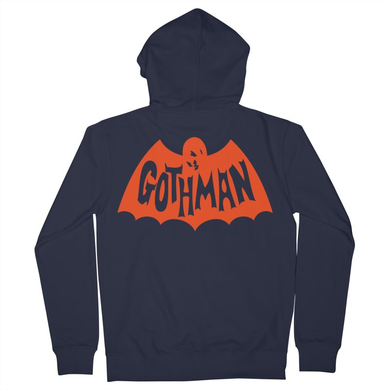 Gothman Classic Orange Women's French Terry Zip-Up Hoody by Gothman Flavored Clothing